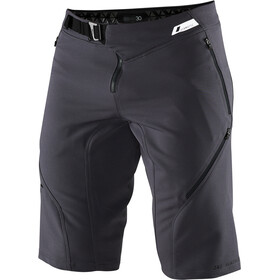 100% Airmatic Enduro/Trail Pantaloncini Uomo, charcoal